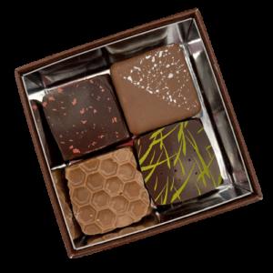 Boite 4 chocolats