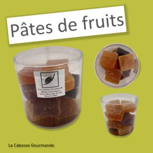 Pâtes de fruits – Pot de 12