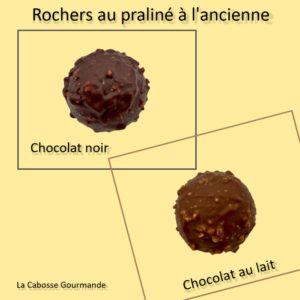 Rocher Praliné Chocolat Noir